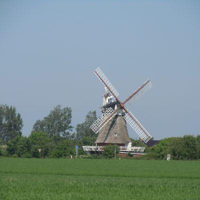 Die Mühle bei Oldsum